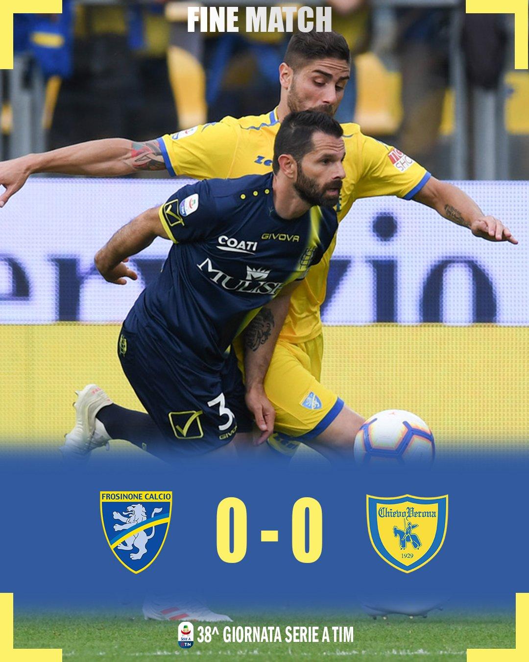 Flipboard Sports Highlights News Now: Frosinone Chievo 0-0: Highlights. Pellissier Ai Saluti