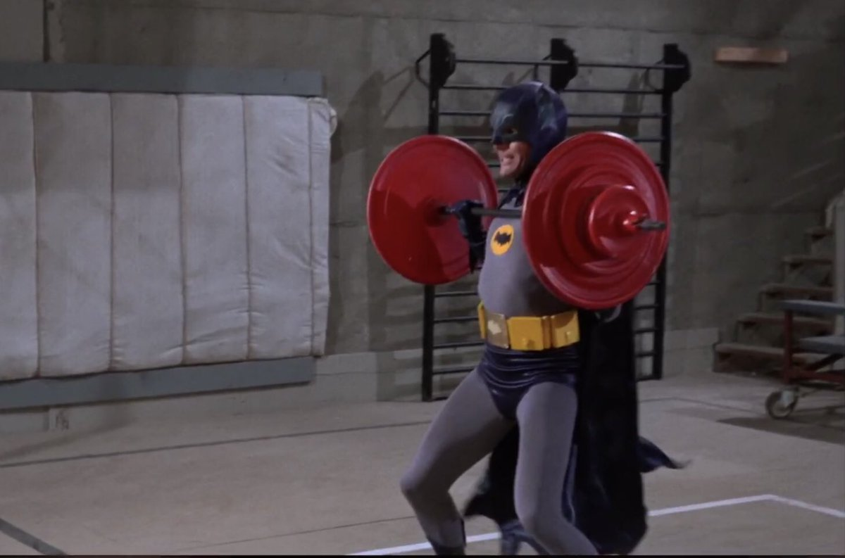 60s Batman's photo on #HowIStayEfficient