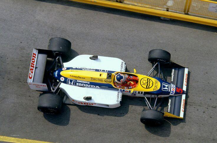 Nigel Mansell, Williams-Honda, San Marino Grand Prix, 1987 <br>http://pic.twitter.com/aumIcEIKNn