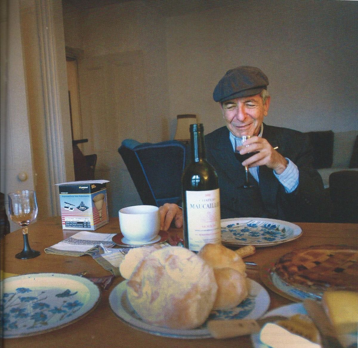 Oh I so loved  him.   Teenage angst he helped me through with his heartfelt words and beautiful poetry.  Always a Gentleman. Leonard Cohen here at home in Montreal by Charla Jones.  Sincerely H Warlow. <br>http://pic.twitter.com/e8ZIGrV9z8