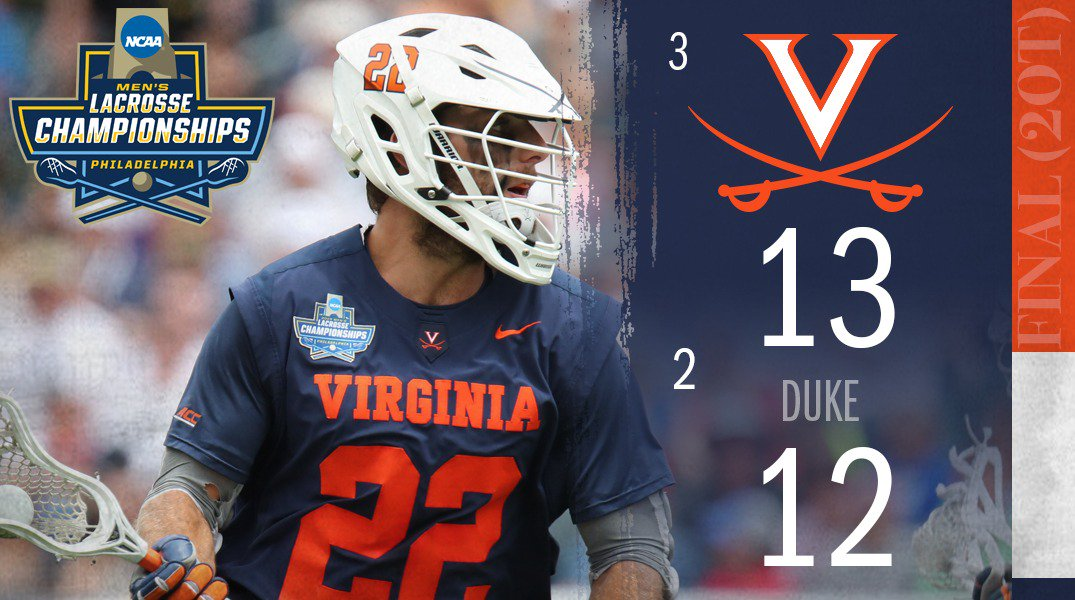 Virginia Men's Lacrosse's photo on #GoHoos