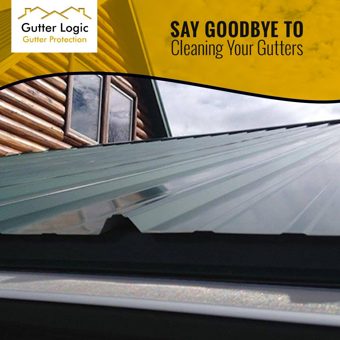 Are you tired of spending your precious free time cleaning your gutters? Try GutterDome by @GutterLogic. With our gutter guard system, youll never have to worry about cleaning your gutters again!