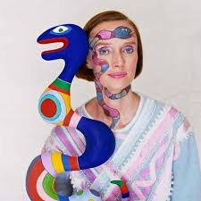 Legend of the 20th century art: #NikiDeSaintPhalle @LeFrenchMay until 2 June. #StudioArchive #review @OmerTirocheArt by @annamcnay  https://www. studiointernational.com/index.php/niki -de-saint-phalle-je-suis-une-vache-suisse-review   … <br>http://pic.twitter.com/Sdh2dSD5Cm