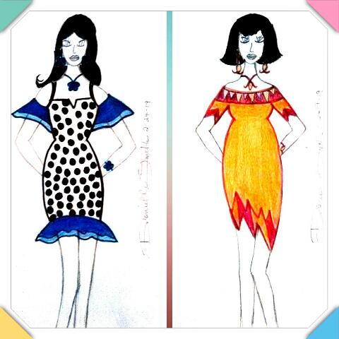 Sharing my #fashiondesign #designbyme #fashionartist #fashionart #fashion #springfashion  #dress #drawing #art #sketch #design #style #sketching #fashionillustration  #artist #artistsontwitter