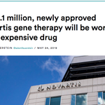 """Image for the Tweet beginning: All these """"most expensive drug"""