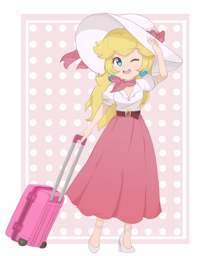 Full Body Version of my recent Super Mario Odyssey Princess Peach art! Full Resolution version available via my Patreon. <br>http://pic.twitter.com/Urt4we1h8d