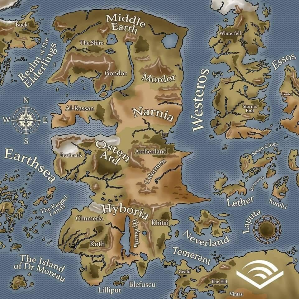 Sent us by a friend: Whats west of Westeros?