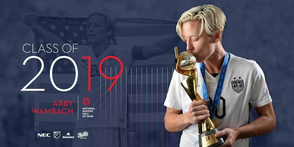 Abby Wambach to be inducted into National Soccer Hall of Fame