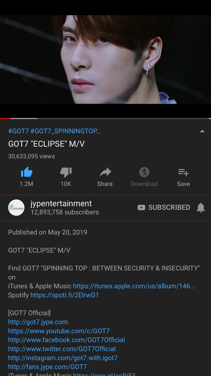 Idk if yt is being *** or practically no one is streaming  ahgase ik a lot is going on but let's not lose track of what's important  it's only 2 weeks let's stick together for this period at least??   @GOT7Official #GOT7  #GOT7_ECLIPSE #GOT7_SPINNIGTOP <br>http://pic.twitter.com/9YZsmWFOGp