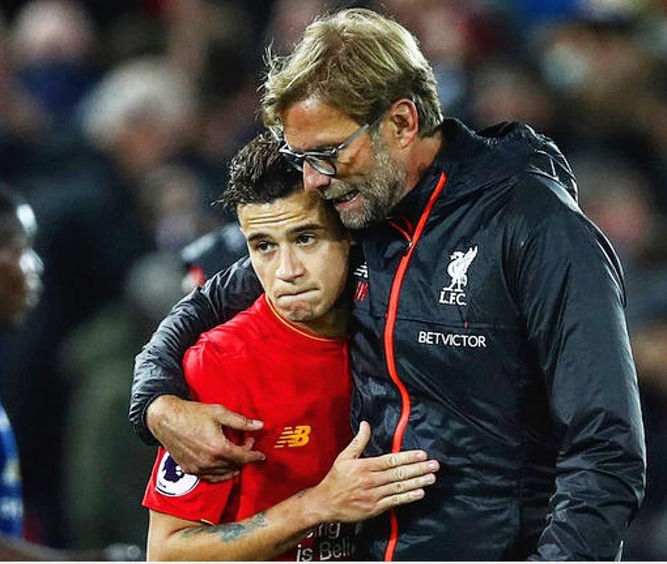 "Klopp on Coutinho: &quot;I told him stay here at Liverpool and they will end up building a statue in your honour. Go somewhere else, to Barcelona, to Bayern Munich, to Real Madrid, and you will be just another player. Here you can be something more.""  He was correct. <br>http://pic.twitter.com/DPt5geWGjl"