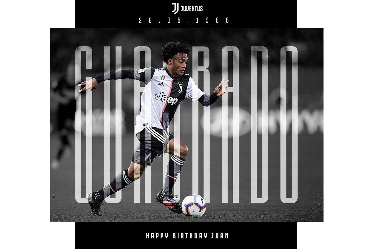 Buon compleanno, Juan @Cuadrado ♥️ ⚫️⚪️ http://juve.it/2tT950upze7