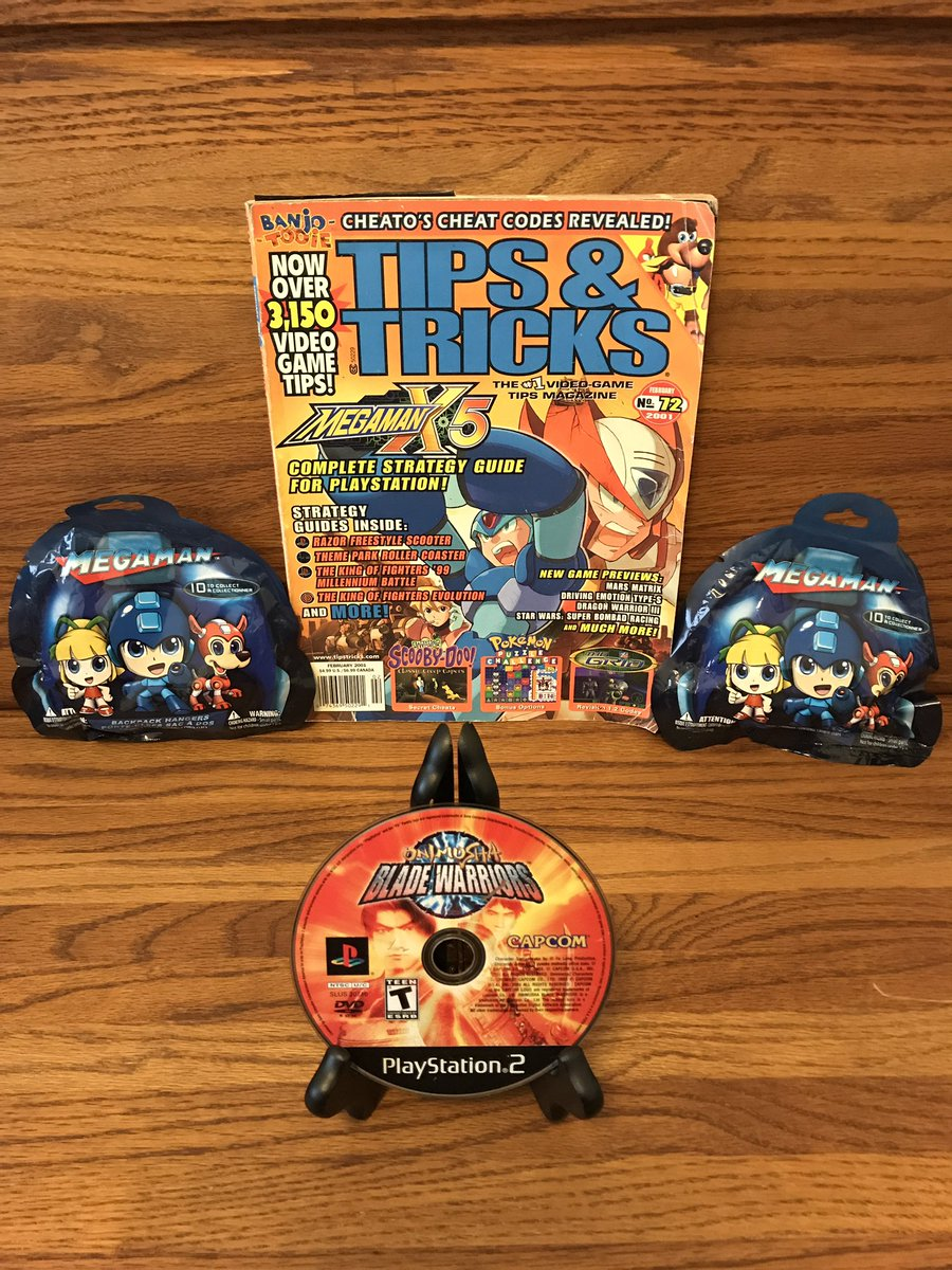 #MegaManWeek  I knew we had a copy of Onimusha Blade Warriors somewhere - NerdCave Adventures😂🤣😂🤣 this wuz one of the games my Queen helped me out wit getting it to work with some good ol Comet & our Spin Dr. Plus. Thankz Again H😍ney. The Mystery bags will go to our Nefews