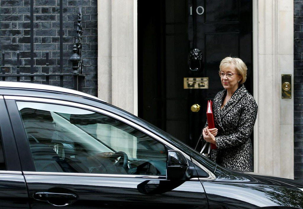 Ex-House of Commons leader Leadsom enters race to be next British PM: media https://reut.rs/2wm68ta
