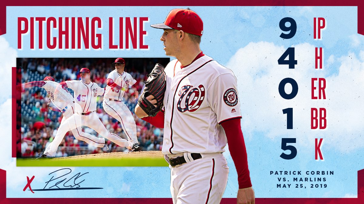 Washington Nationals's photo on Patrick Corbin