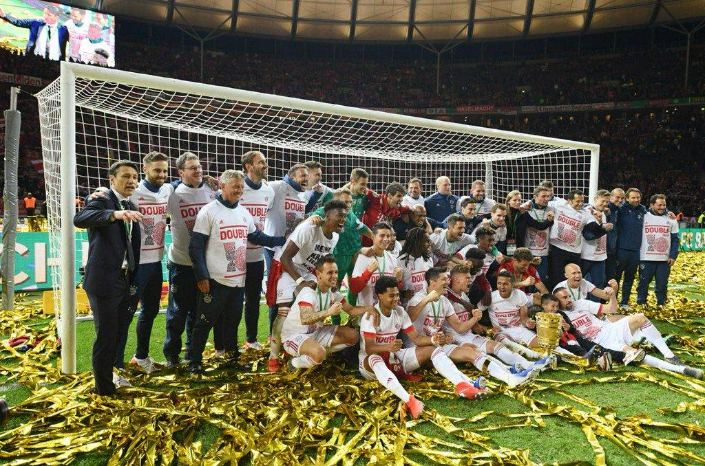 Lewandowski strikes twice as Bayern seal German double https://reut.rs/2QtHBM0