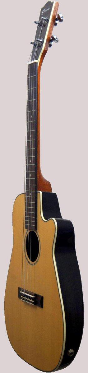 plastic round back baritone ukulele