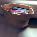 米袋がペーパーバッグに変身!……農家ではすぐバレる!