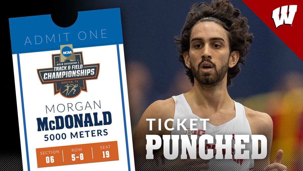 Morgan is heading back to the national stage! The 3⃣X @NCAATrackField 🏆 this year has punched his ticket to the #NCAATF Outdoor Championships