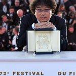 "Image for the Tweet beginning: South Korean film ""Parasite"" wins"