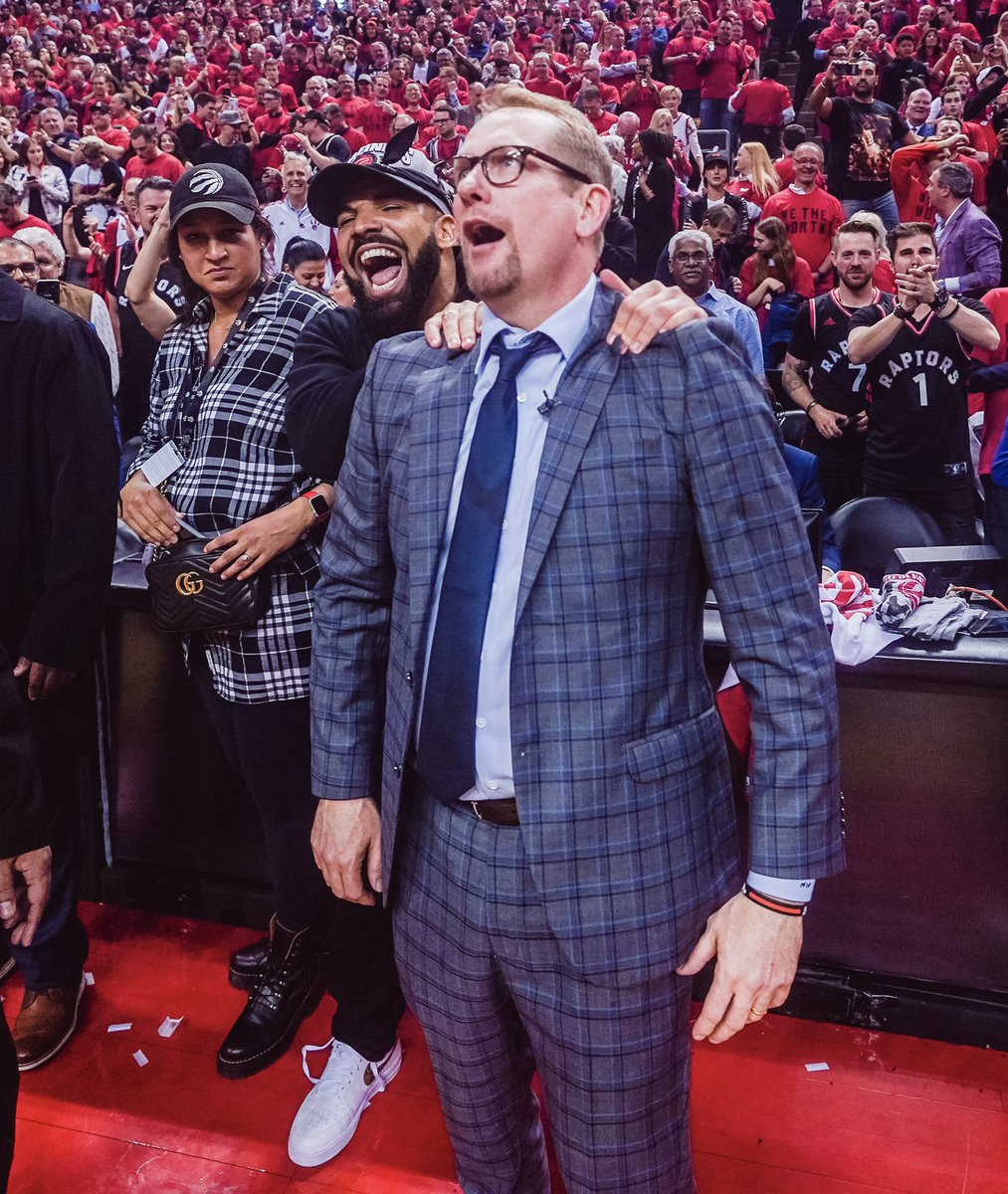 Relax and enjoy the moment, TO. #WeTheNorth