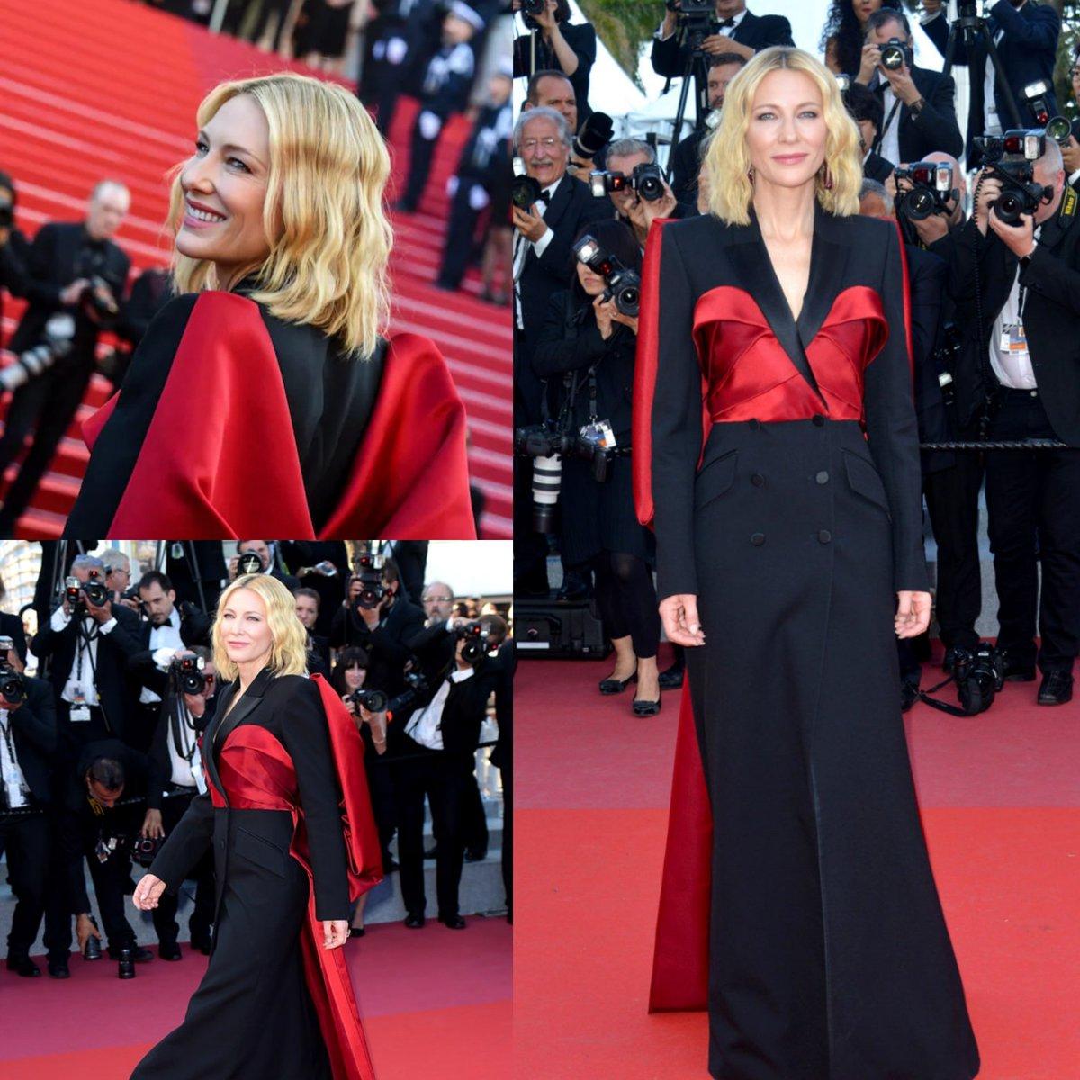 Cate Blanchett, Madame President,  moment of appreciation  @Festival_Cannes 2018 #cateblanchett #cannes2018