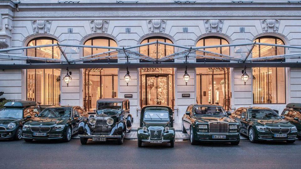 A stay at a 5-star hotel is a lovely thing—and a drive in a vintage car while you're a guest makes it even more memorable http://on.forbes.com/6010EYvjE