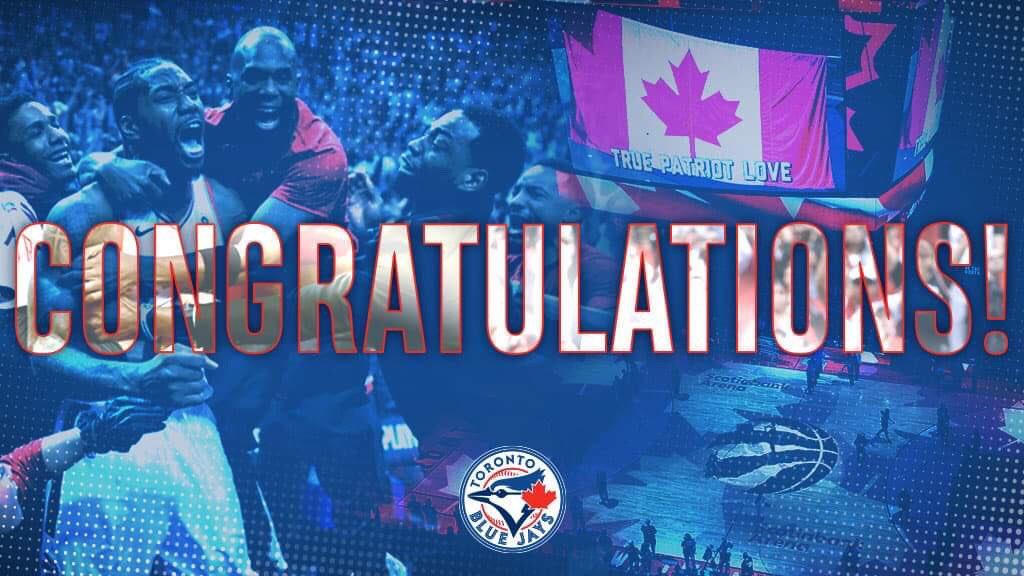 FINALS BOUND! 🏆  Bring it home, @Raptors! 🇨🇦