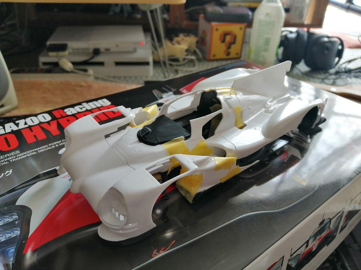 タミヤ 1/24 スポーツカーシリーズ No.349 トヨタ ガズーレーシング TS050 HYBRID プラモデル 24349に関する画像17