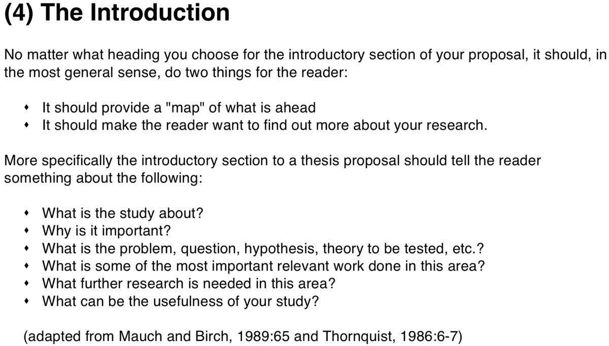 """Ο χρήστης Write That PhD στο Twitter: """"How to write & structure a"""