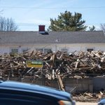 Image for the Tweet beginning: Houses come down in advance