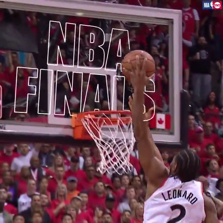 Kawhi helped the @Raptors punch their ticket to the NBA Finals! 😤