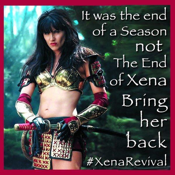 xena reboot cast