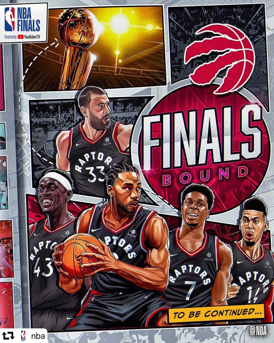 There's something special about being the underdog, being underestimated, being doubted - that makes victories that much sweeter. Congrats @MLSEPR on a record breaking franchise win - and for carrying the hopes of a country 🇨🇦 to conference victory. Now on to #NBAFINALS.