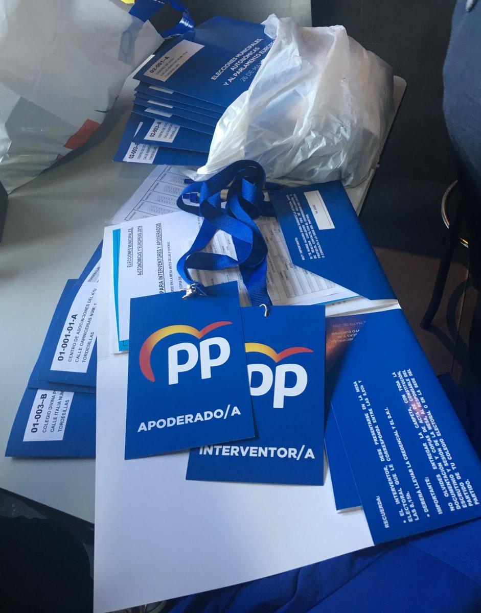 👥 El equipo de apoderaros e interventores de @PPTordesillas ya esta preparado para la #Jornadaelectoral, trabajaremos para que todo transcurra con total normalidad y sin incidentes.   @PPValladolid @PopularesCyL #26M #Futuro #Municipales2019  #EuropeanElections2019