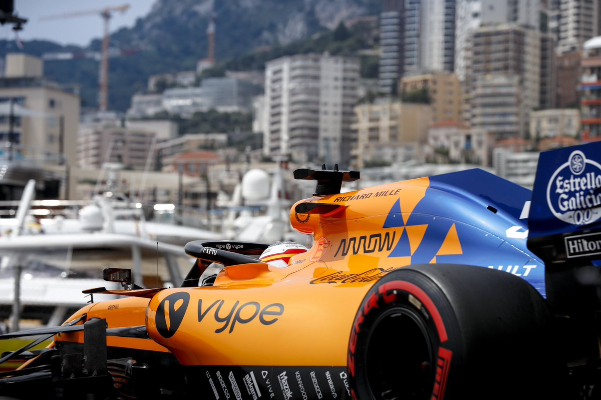 Morning all. Who's ready for a bit of racing today then? 🇲🇨😁 #MonacoGP https://t.co/3RtD5dsuQh