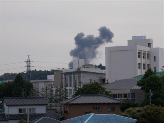 画像,日立市で爆発火災発生! https://t.co/n7aQxFYnHp。