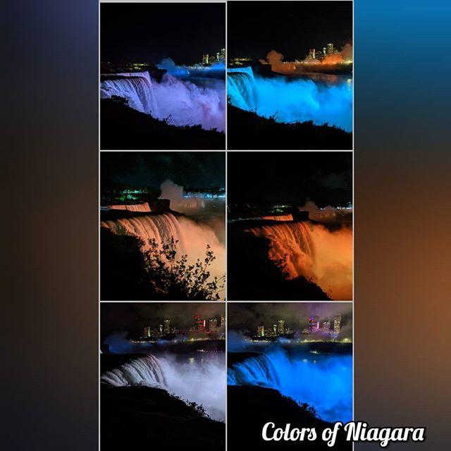 The colors of Niagara 🥰😍❤️ #BreatheTaking #Amazing #Beautiful #NatureAtItsBest #MustVisit #LongWeekendDoneRight http://bit.ly/2HW01B0
