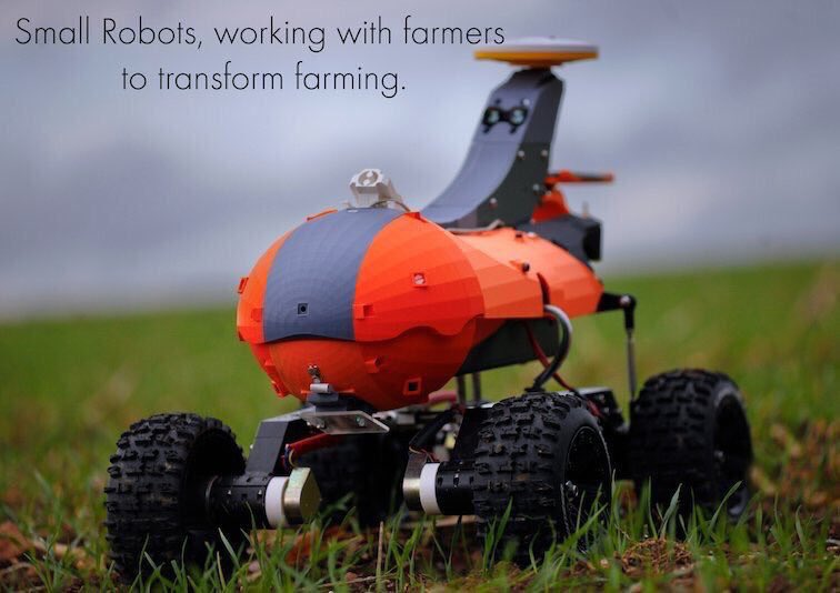 Please vote for our #sustainable farming robots! We're up for the Europas - @TechCrunch awards - hugely prestigious! Hottest #AgTech/FoodTech start up. Can you help Tom, Dick & Harry @smallrobotco win? Please do RT!🤖#NatureFriendlyFarming  #Environment https://theeuropas.survey.fm/theeuropas2019?p=1…