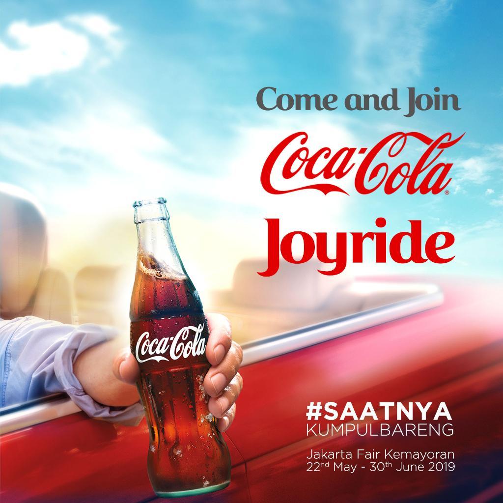 Coca Cola Indonesia على تويتر Ngabuburit Makin Seru Karena Ada Coca Cola Di Jakarta Fair Kemayoran Ready To Enjoy The Ride Saatnyakumpulbareng
