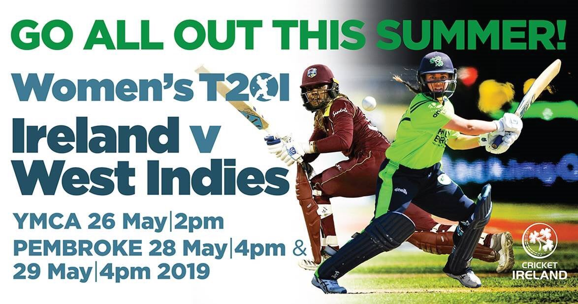 First international of the season starts today when we take on @windieswomen at @YMCACCDublin. Come support the team if you can, or follow the game via the livestream or on @ESPNcricinfo. #BackingGreen