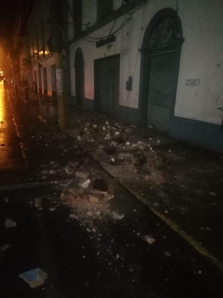 FUERTE SISMO SACUDE  EL NORTE DE PERÚ  D7eydBgX4AAXh7-