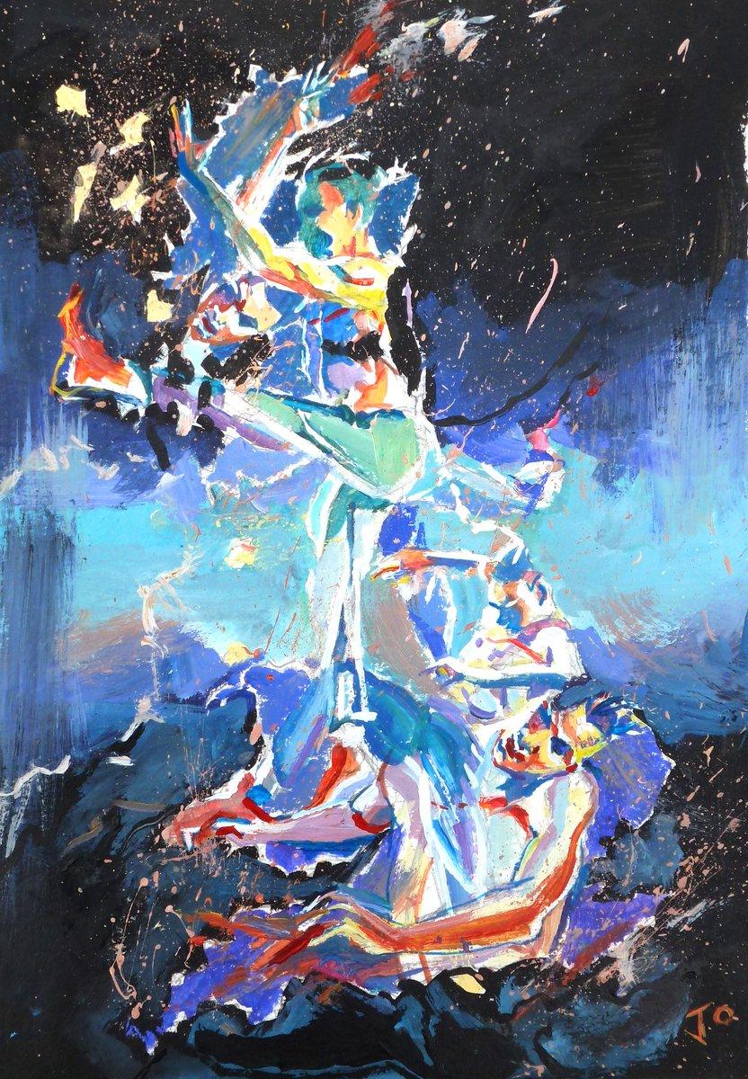 Sketch of @mjamesrawcliffe  from @bbcyoungdancer 2019 - by @JoBradleypaint  @bbcarts @itsanitarani @OreOduba #bbcyoungdancer #bbcarts #Dance https://t.co/uoemLxm4NB
