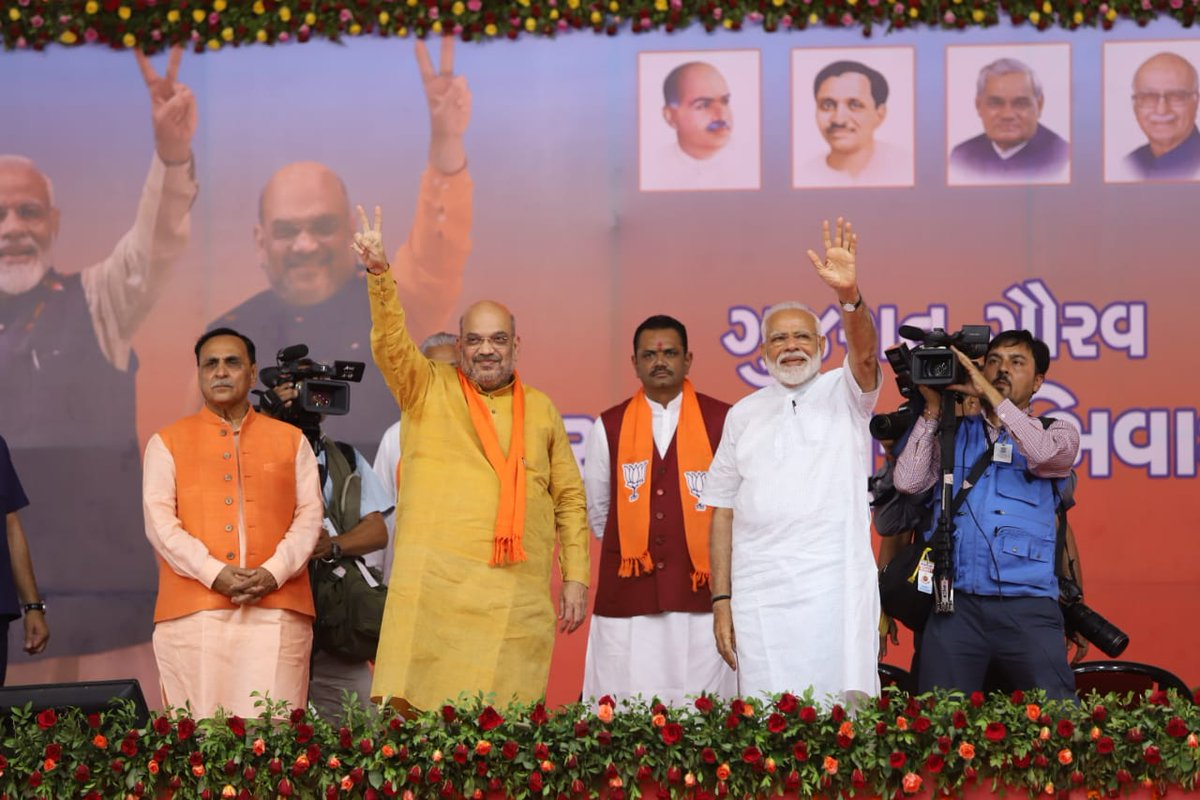 Lok Sabha 2019, a spectacular victory for BJP in Gujarat, like never before for any party, anytime in the past