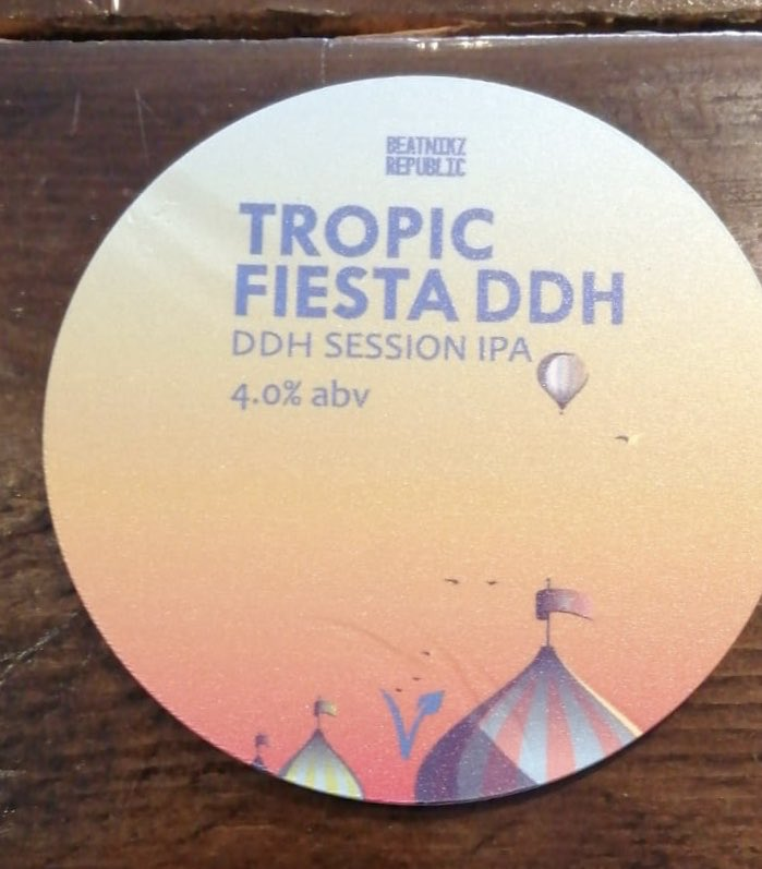 36a36bcc07a5 Don't this tropical beauty from @BeatnikzRep at @TheBardPrescot this  weekend! A simply stunning refreshing drink at a low session ABV strength!