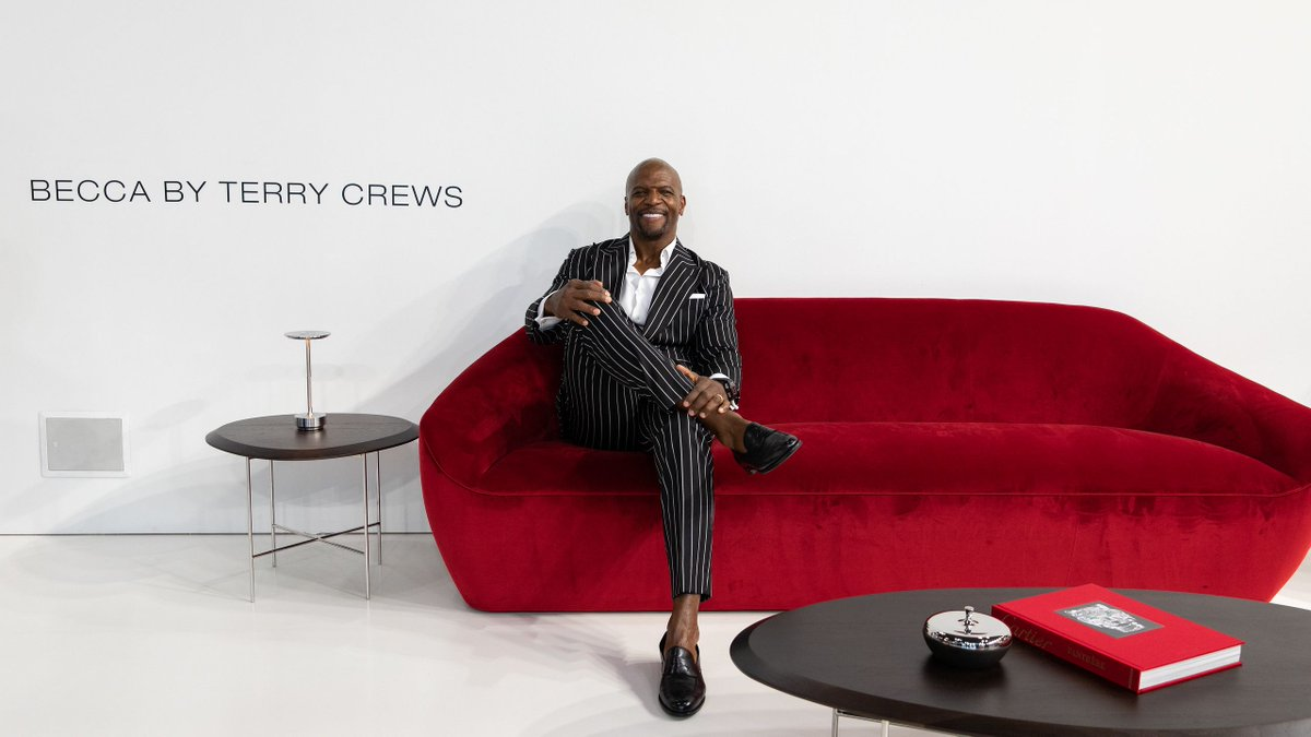 Icff On Twitter Terry Crews Debuts His Third Collection For