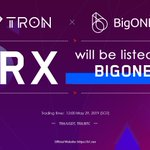 Image for the Tweet beginning: #TRX will be listed on