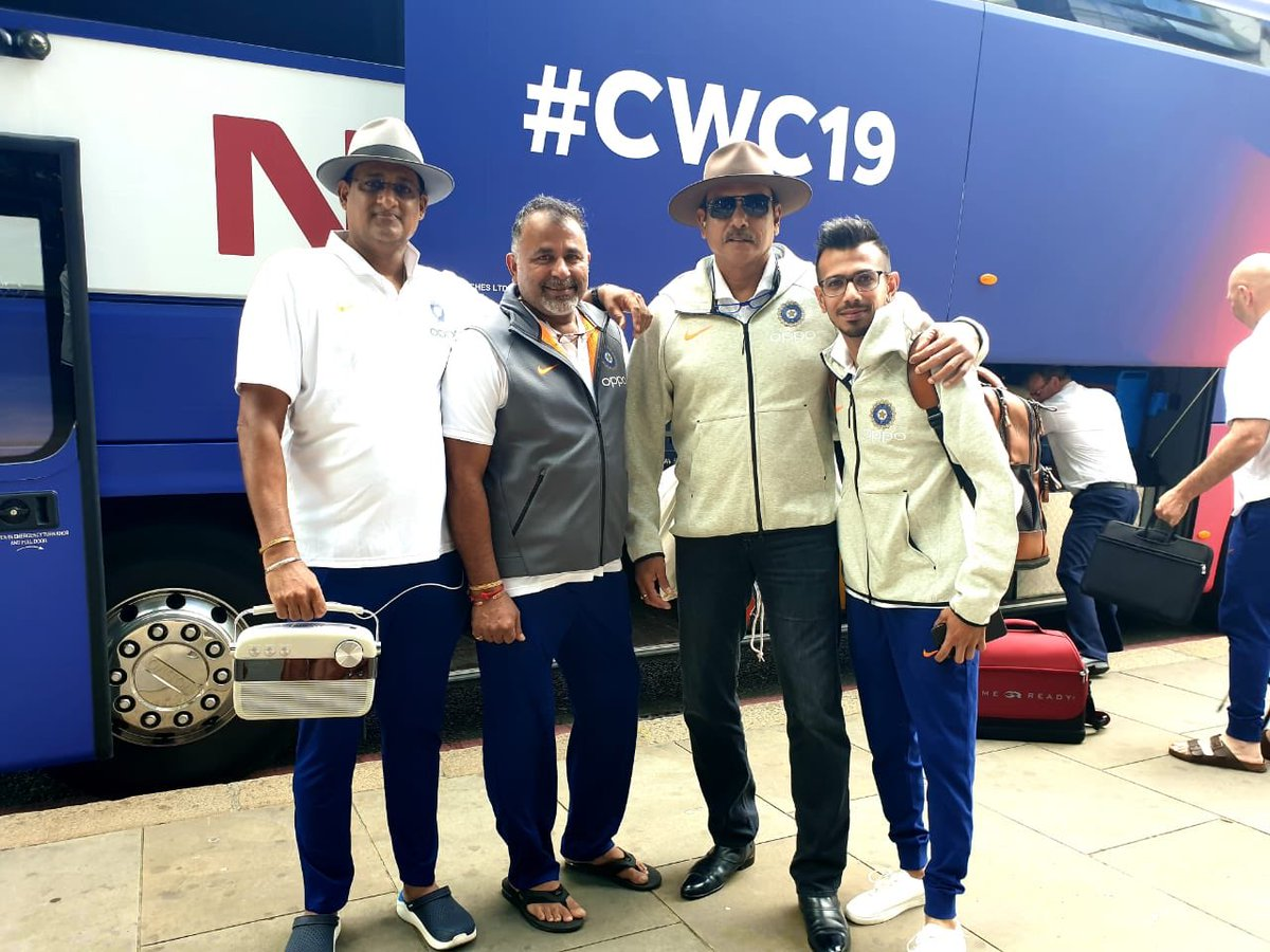 Home bound- Wales- with the boys @cricketworldcup @BCCI #TeamIndia #CWC19