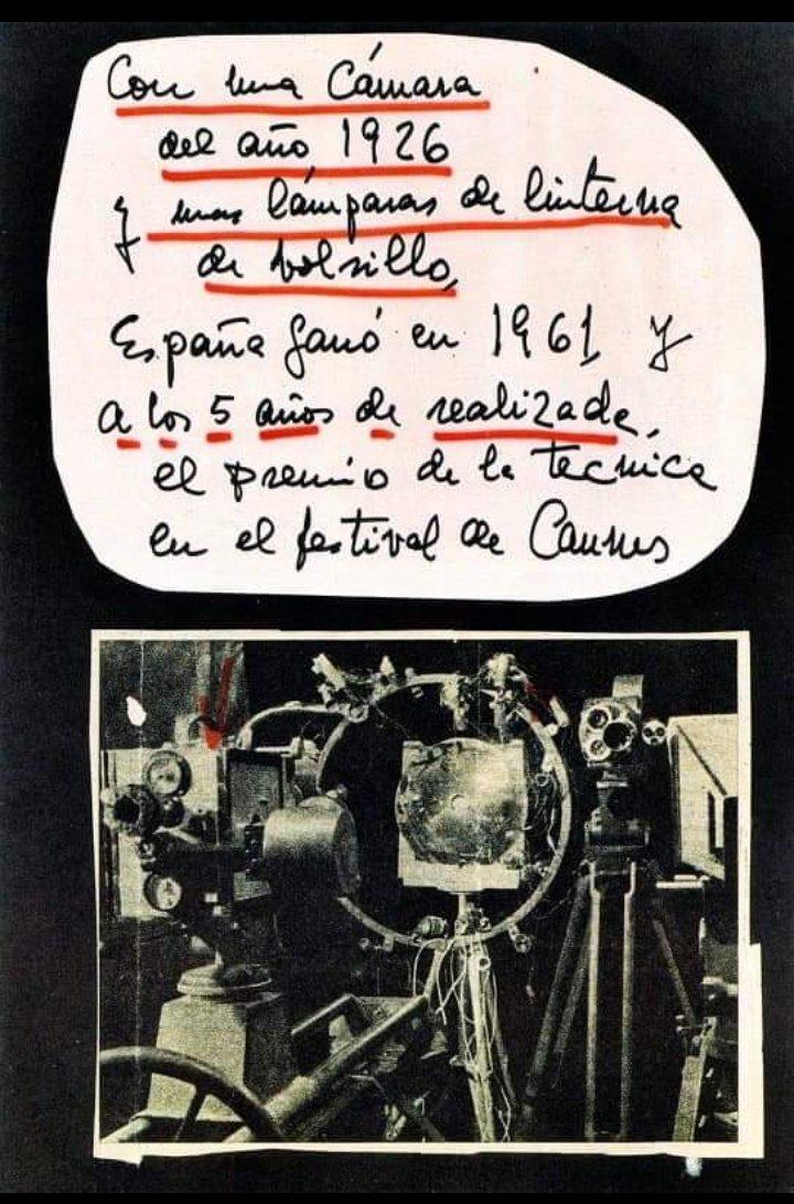 @Festivalcannes #Cannes2019 #Cannes2018 reconoce el trabajo del granadino #ValDelOmar (aquí de su puño y letra) Si no tenías ni idea te espero en @CajaGranadaOBS el 6 de junio a las 22.00h @aytogr @dipgra #Granada  #culturainquieta #CulturaPop Te vienes @antoniobanderas ? 😍