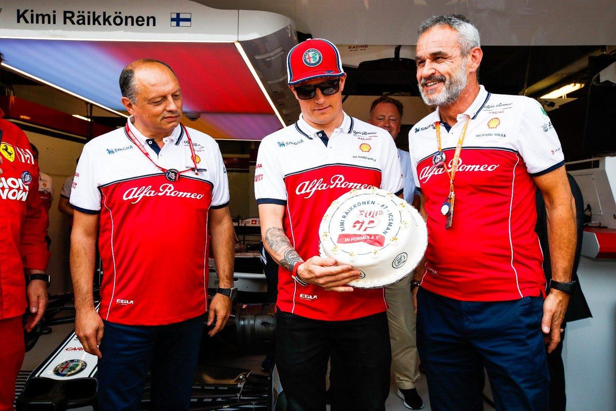 Congrats, legend 👑  #Kimi300 #MonacoGP