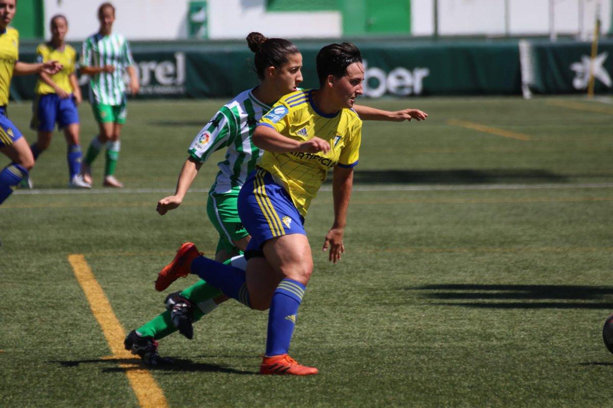 El Cádiz Femenino, en el duelo de ida ante el Betis (Foto: Cadiz_CFFem).